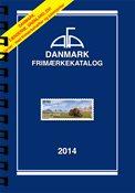 AFA Danmark frimærkekatalog 2014 med spiralryg