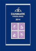 AFA Danmark 4-blokliste frimærkekatalog 2014
