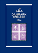 AFA stamp catalogue - Denmark block of 4 - 2014