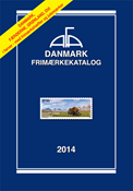 AFA stamp catalogue - Denmark 2014