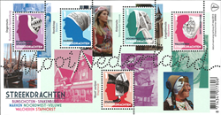 Holland - Folkedragter - Postfrisk miniark