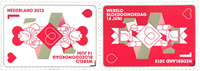 Netherlands - Blood donation - Mint set 2v