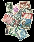 Monaco årgang 1952/53 postfrisk