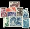 Monaco årgang 1944-45 postfrisk