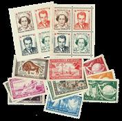 Monaco årgang 1949 postfrisk