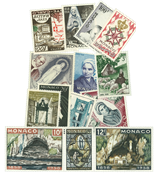 Monaco årgang 1958 postfrisk