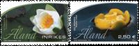Åland - Nénuphars jaune et blanc - Série neuve 2v