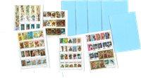 5000枚不同世界各地邮票 小册