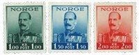 Norvège 1937 Roi Hakon 1-1,50-2 kr.