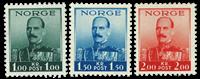 Norge 1937 Kong Håkon 1-1,50-2 kr.