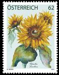 Østrig - Solsikke - Postfrisk frimærke