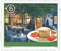 Austria - Mansion Bacher - Mint stamp