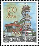 Østrig - Toboggan - Postfrisk frimærke