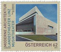Østrig - Linz Musiktheater - Postfrisk frimærke