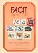 FACIT Special-frimærkekatalog 1992