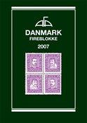 AFA Danmark fireblokliste frimærkekatalog 2007