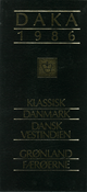 DAKA Håndbog 1986.Danmark,Grønland,Færøerne. Udsalgspris 50,-