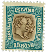 Iceland 1907 - AFA no. 60 - Mint