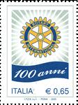 100ans de Rotary 1v *