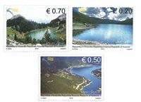 Kosovo - Vandreserver søer - Postfrisk sæt 3v