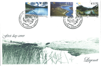 Kosovo - Water resources - Lakes - First Day Cover