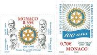 Monaco - Rotary - Série neuve 2v