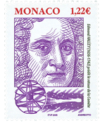 Monaco - Personnages célèbres - Halley - Timbre neuf