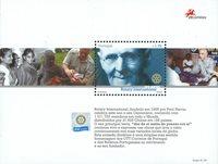 Portugal - Rotary 100år M/S - Postfrisk miniark