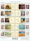 Nederland - Vincent van Goghvelletje 2003 (V2142-V2151, postfris)