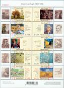Pays-Bas - Vincent van Gogh 2003 nos 2142-2151 - Neuf