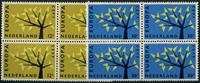 Holland 1962 - NVPH 777-778 - Postfrisk - 4-blok