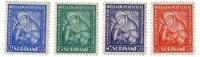 Suriname - Van Heemstra stichting 1928 (nr.137-140, postfris)