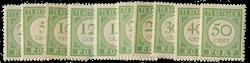 Curacao - Port Cijfer 1915 (P21-30, postfris)