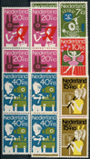 Netherlands 1964 - NVPH 830-834 - Mint - 4 block
