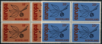 Netherlands 1965 - NVPH 847-848 - Mint - 4 block