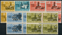 Netherlands 1965 - NVPH 842-846 - Mint - 4 block