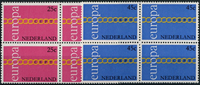 Netherlands 1971 - NVPH 990-991 - Mint - 4 block