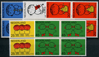 Netherlands 1969 - NVPH 932-936 - Mint - 4 block