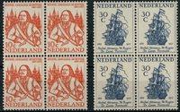 Holland 1957 - NVPH 693-694 - Postfrisk - 4-blok