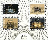 Monaco - Casino 150 ans - Bloc-feuillet neuf