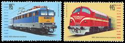 Hongrie - Trains - Série neuve 2v