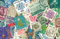 Egypt UAR 50 different stamps
