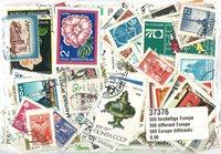 500枚不同欧洲邮票