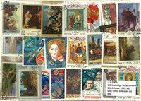 500张不同原苏联邮票