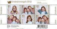 Holland 2012 - miniark - Kinderpostzegels