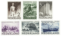 Holland 1950 - NVPH 550-555 - Postfrisk