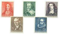 Nederland 1947 - Nr. 490-494 - Postfris