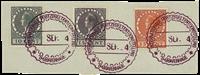 Holland - NVPH 136-138 - Stemplet