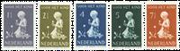 Holland 1940 - NVPH 374-378 - Ubrugt