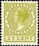 Pays-Bas - 25 ct - no 192 neuf